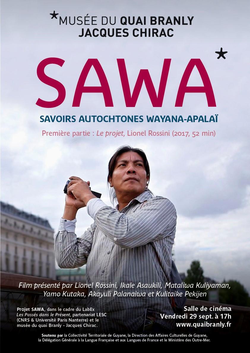 Affiche pour la présentation du film intitulé Première partie : Le projet, Lionel Rossini, 2017